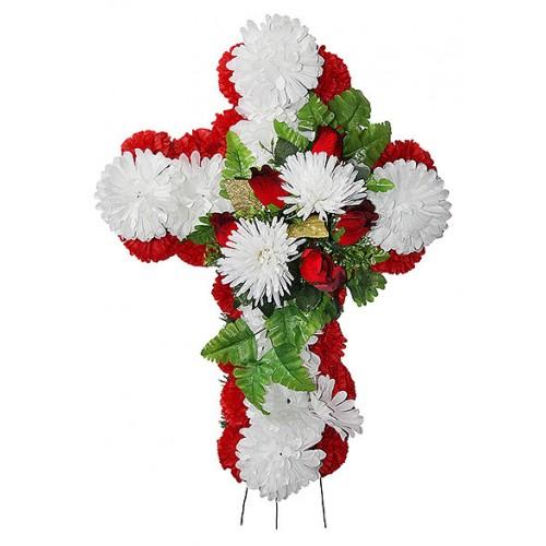 Венок Крест маленький № 2