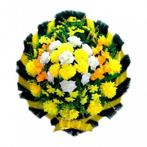 Венок Круглый желтый