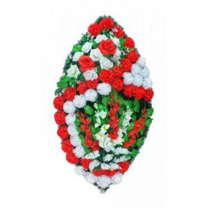 Венок Розы красные 125 см